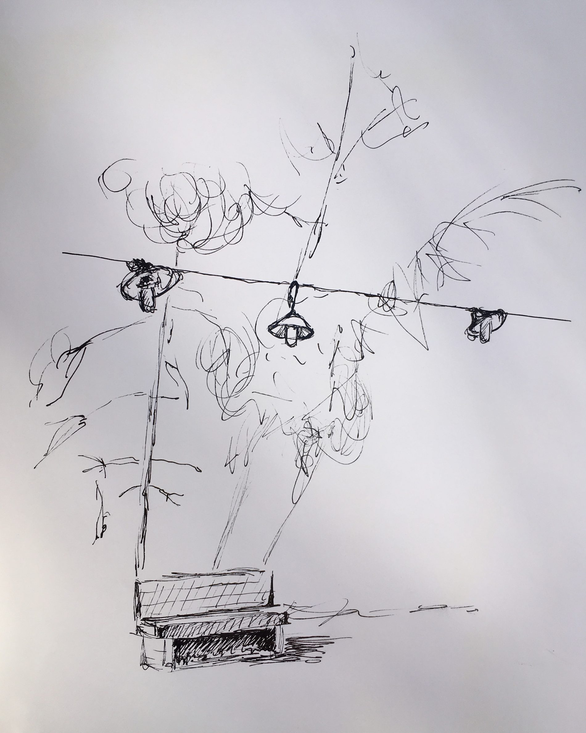 Sketch by Margit Drescher