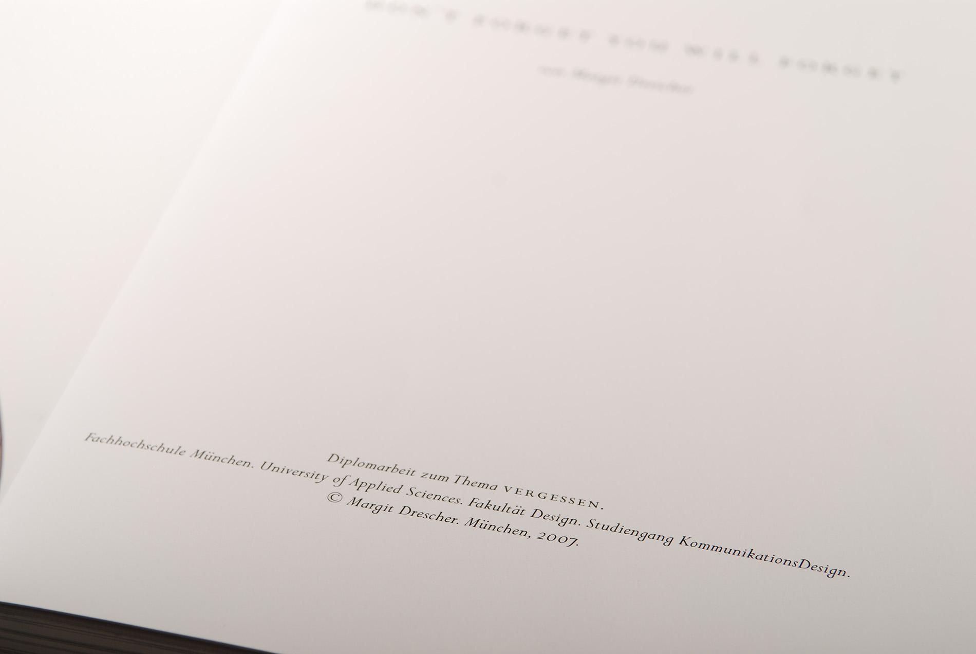 Diploma Thesis by Margit Drescher